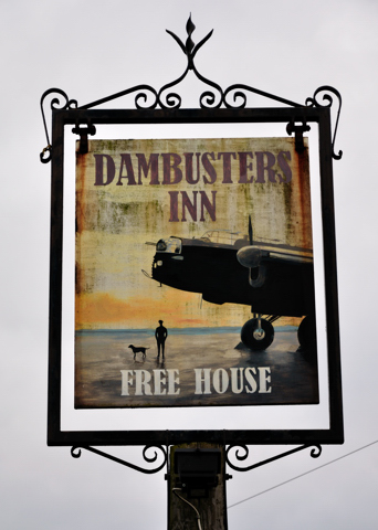 Dambusters bub sign